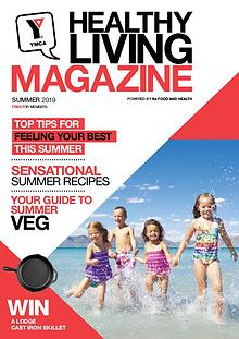 YMCA Healthy Living Magazine, powered by n4 food and health