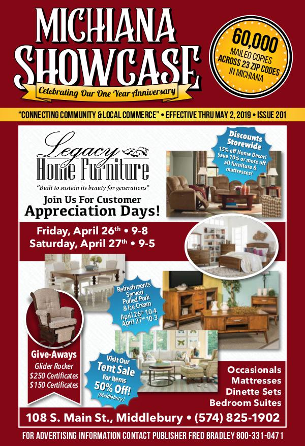 Michiana Showcase 201 - April 2019