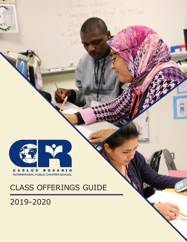 Class Offerings 2019-2020