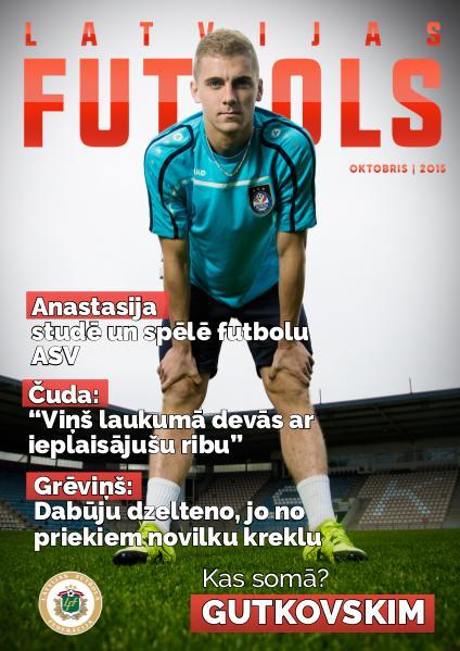 Latvijas Futbols Septembris/Oktobris 2015