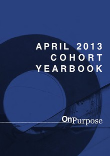 On Purpose April 2013 Cohort Book
