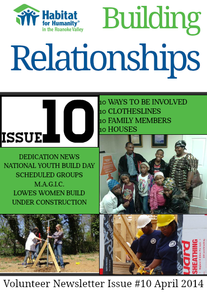 Issue #10 April 2014