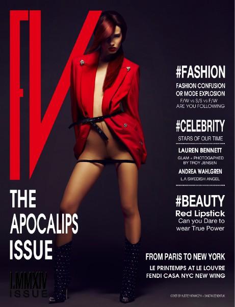FV MAGAZINE -APOCALIPS ISSUE Jan 2014