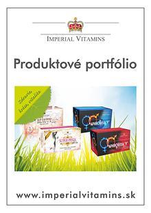 Produktové portfólio výživových doplnkov Imperial VITAMINS