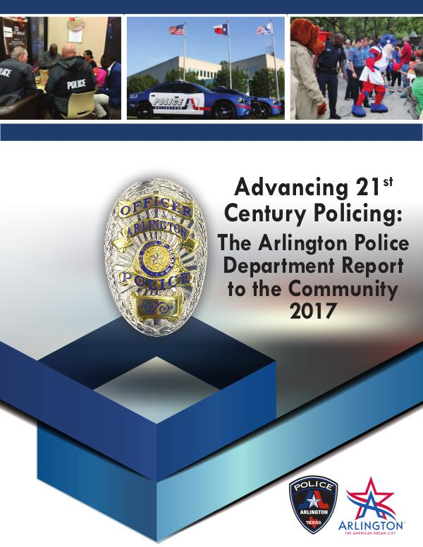 The Advancing 21st Century Policing Community Report 2017 The Advancing 21st Century Policing Community Repo