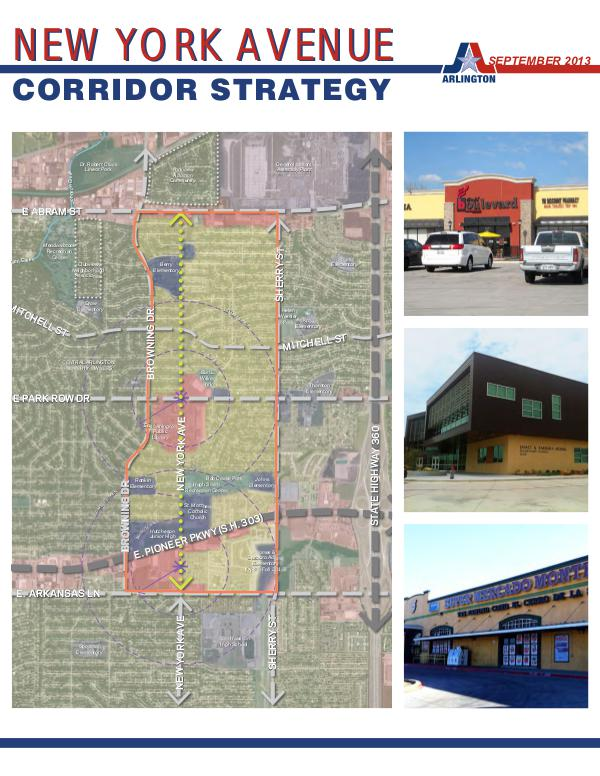 New York Avenue Corridor Strategy Adopted Report New York Avenue Corridor Strategy Adopted Report