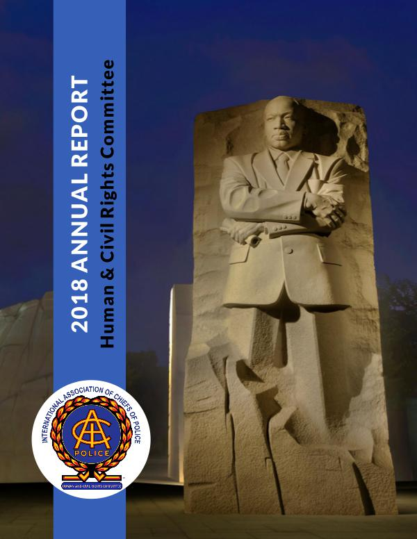 IACP Human and Civil Rights Committee 2016 Annual Report IACP Human & Civil Rights Committee (Annual Report