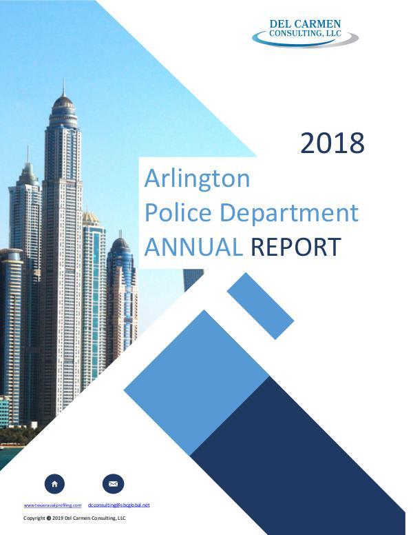 2018 Racial Profiling Report
