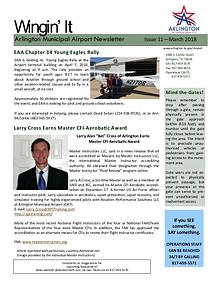 Wingin' It - Arlington Municipal Airport Newsletter