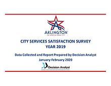 City Services Satisfaction Survey