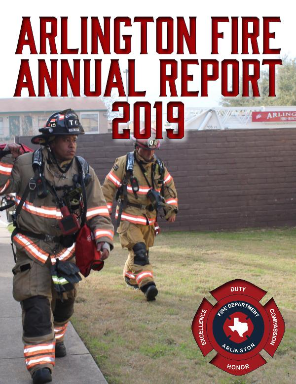 Arlington Fire Department Annual Report FY 2019