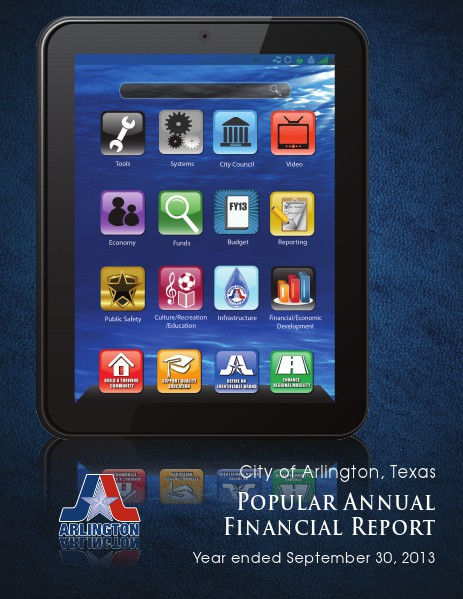 Popular Annual Financial Report FY 2013