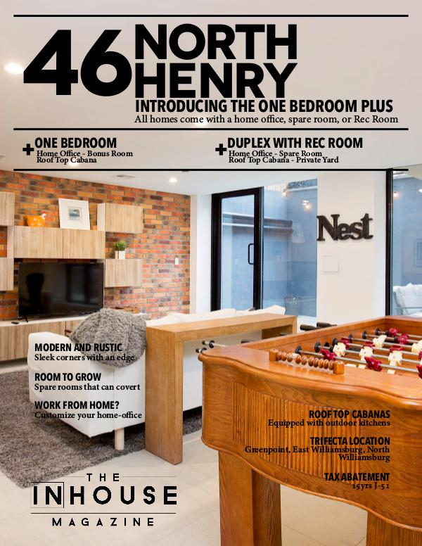 The InHouse Magazine 46 North Henry