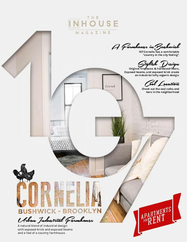 107 Corneilia, Farmhouse Inspired Rentals