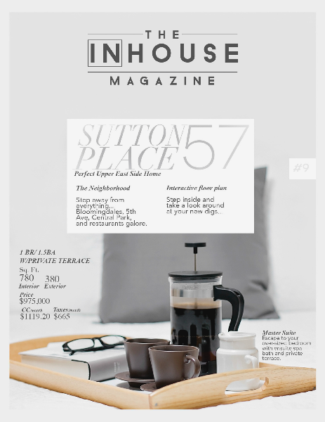 The InHouse Magazine Perfect Upper East Side Home || Sutton 57