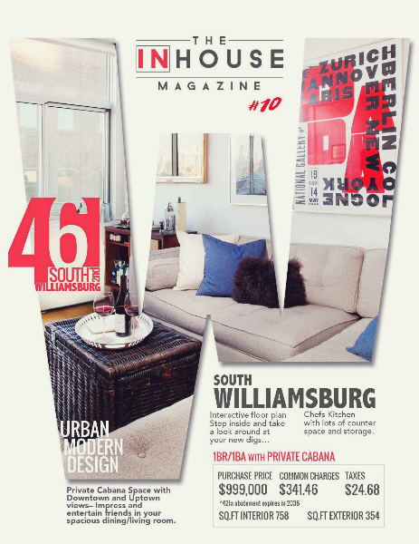 The InHouse Magazine S. Williamsburg Urban Modern Design || 42 S. 2nd
