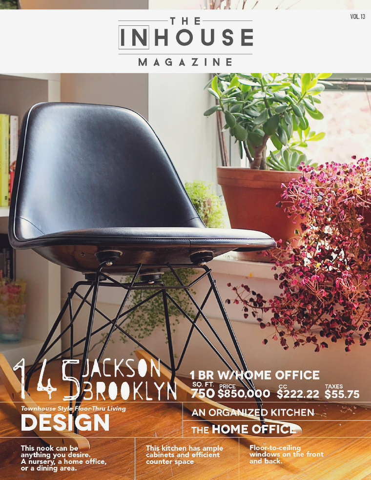 The InHouse Magazine Townhouse Style in Brooklyn || 145 Jackson
