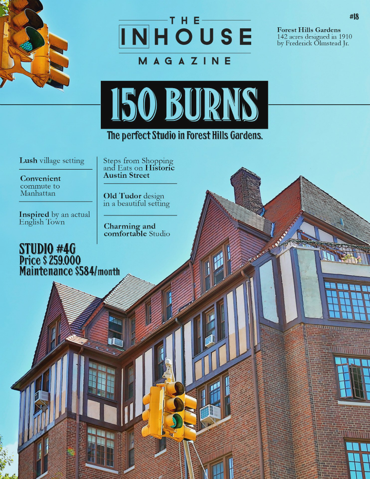 The InHouse Magazine Studio in Forest Hills Gardens || 150 Burns