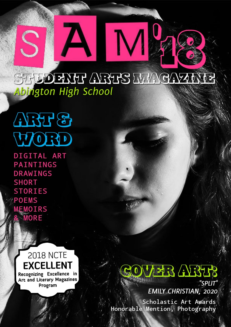 Abington High School Student Arts Magazine 2017-2018