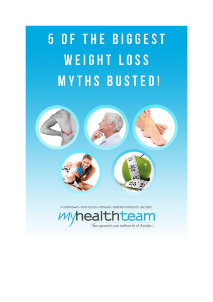 5 Of The Biggest Weight Loss Myths Busted December 2014