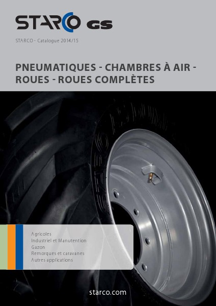 Blue Catalogue STARCO Catalogue 2014/15 (CH-fr)
