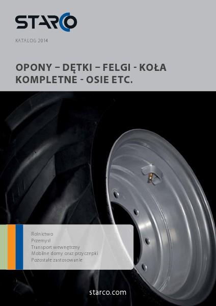 Blue Catalogue STARCO Katalog 2014 (PL)