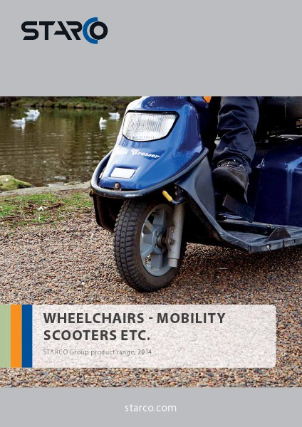SubCat Various App STARCO Wheelchairs - Mobility - Scooters etc. (INT
