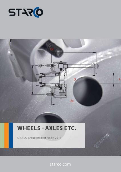 SubCat Wheels-Axles STARCO Wheels - Axles etc. (INT en)