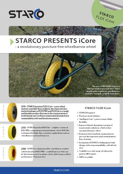 Brochure FLEX iCore STARCO FLEX iCore (INT en)