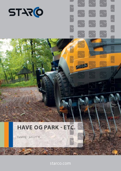 SubCat Ground Care - Utillity STARCO Ground Care - Utility (DK)