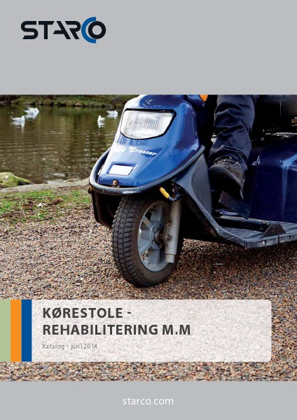 STARCO Wheelchairs - Mobility - Scooters etc. (DK)