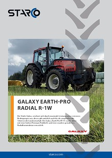 Flyer Galaxy Earth Pro