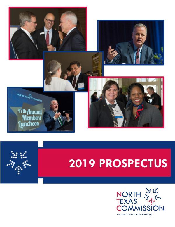 North Texas Commission 2019 Prospectus FY19 Prospectus