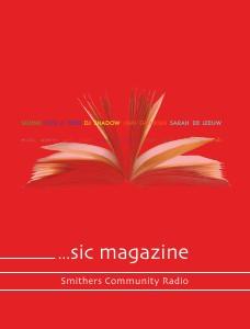 [sic] magazine - spring 2013 spring 2013