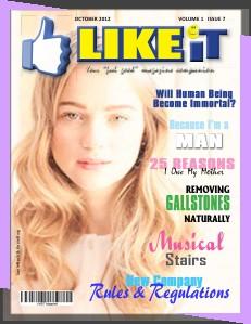 LIKEiT Magazine Vol 1 Issue 7 September 2012
