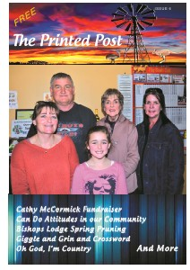 The Printed Post Aug. 2012