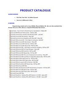 Product Catalog_v1 Jul. 2012
