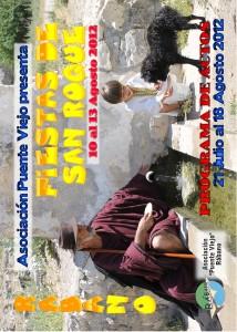 Programa Fiestas San Roque Jul. 2012