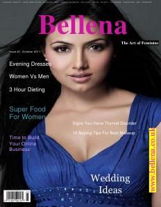 Bellena Fashion magazine issue#1 Oct. 2011