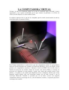la tecnologia Jul. 2012