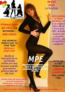 "MIGUE PLAY ENTERTAINMENT ""Magazine"" () Jul. 2012"
