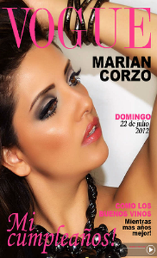 Vogue Cumpleaños Marian ()
