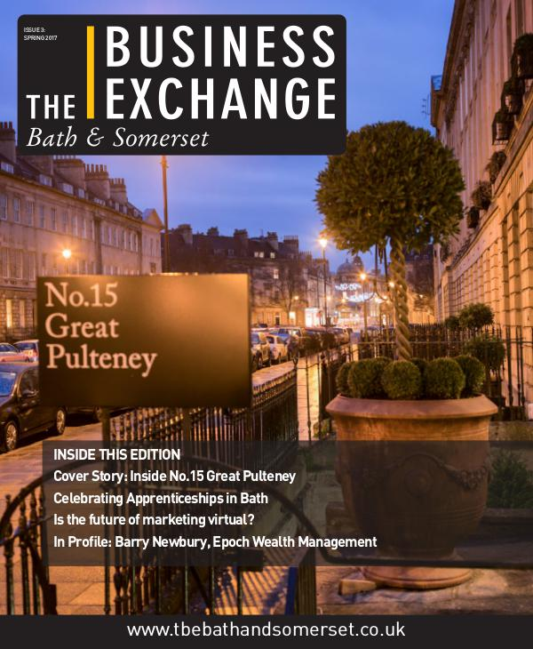 The Business Exchange Bath & Somerset Spring Edition 2017