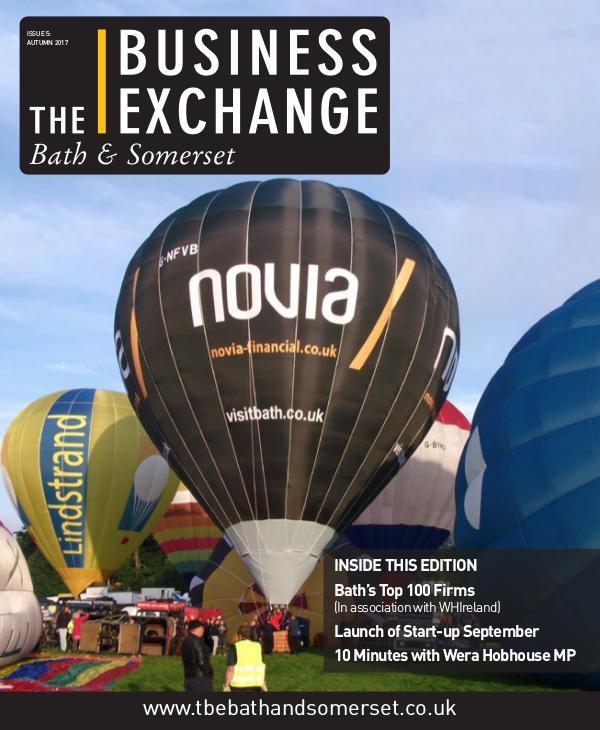 The Business Exchange Bath & Somerset Issue 5: Autumn 2017