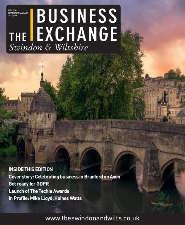 The Business Exchange Swindon & Wiltshire Dec/Jan Edition 2017