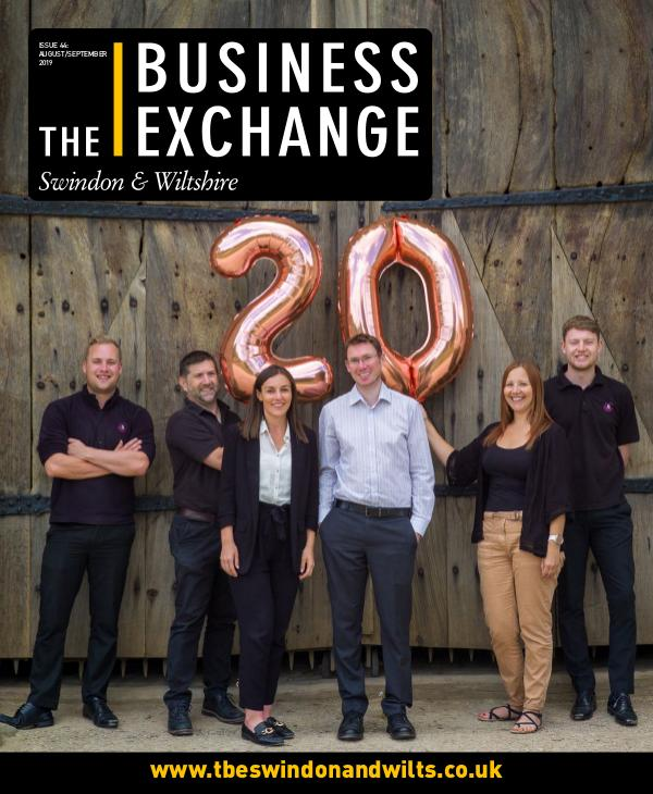 The Business Exchange Swindon & Wiltshire August/September Edition 2019