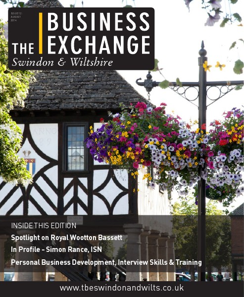 The Business Exchange Swindon & Wiltshire August 2014 Edition