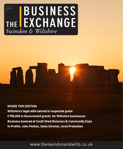 The Business Exchange Swindon & Wiltshire October 2014