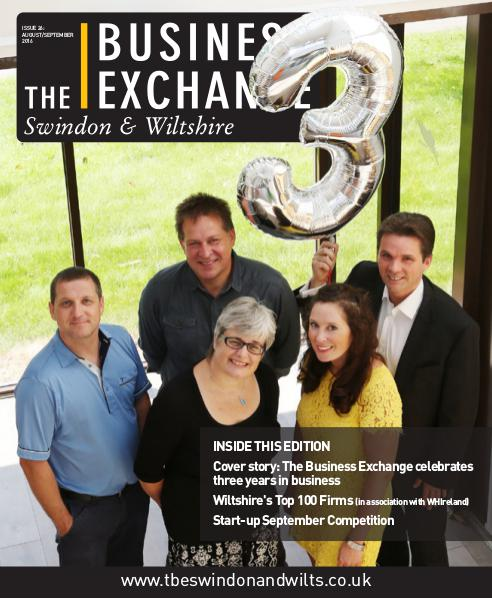 The Business Exchange Swindon & Wiltshire August/ September 2016