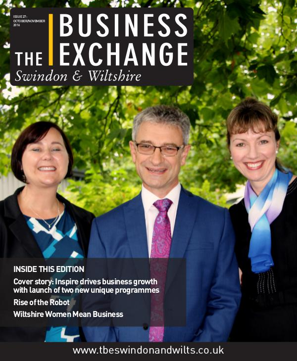 The Business Exchange Swindon & Wiltshire October/November edition 2016